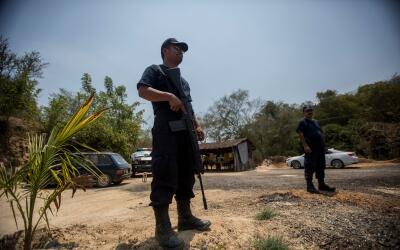 Violencia Guerrero (Imagen de archivo)