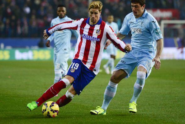 Fernando Torres estaría cerca del gol pero no tendría la suerte que most...