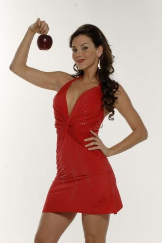 """En esta serie se convirtió en la sexy """"Roxana Guzmán""""."""