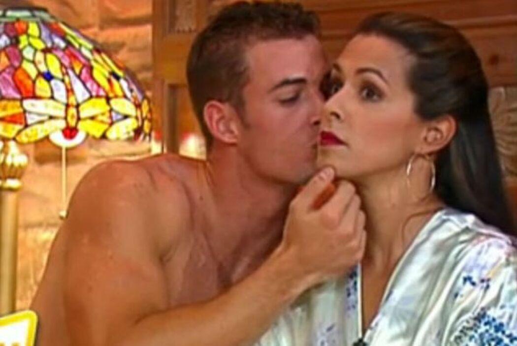 5.-Uno de los momentos más candentes de la presentadora en la Tv fue cua...