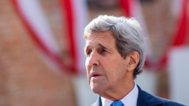 El Secretario de Estado de Estados Unidos,John Kerry.