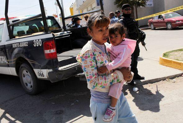 En esta guerra contra el narcotráfico, iniciada desde el 2006, los menor...