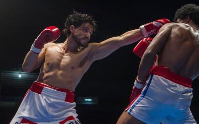 'Hands of Stone': entrenando para ser boxeador