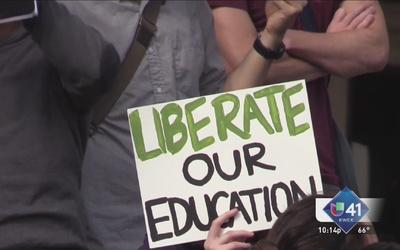 Jóvenes exigen educación universitaria accesible