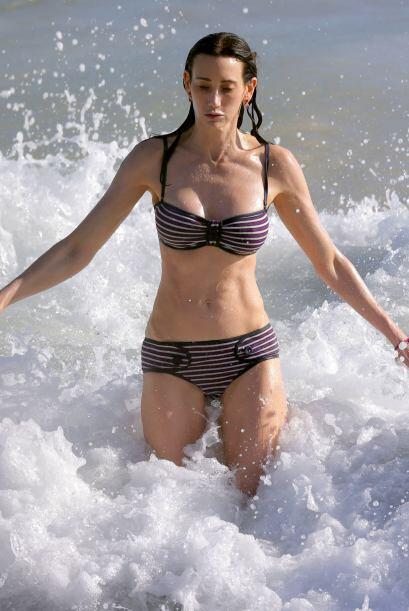 Nancy también luchó contra las olas. Mira aquí los...