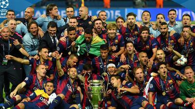 Los culés consiguen la Triple Corona de la temporada al ganar la Champions.