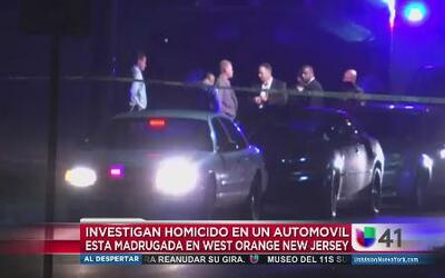 Hallan cuerpo dentro de un auto en West Orange, NJ