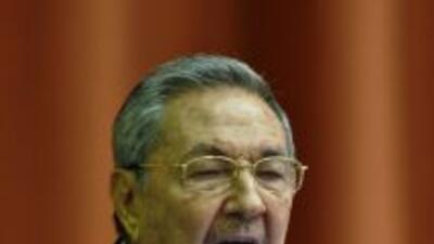 Raúl Castro, presidente de Cuba.