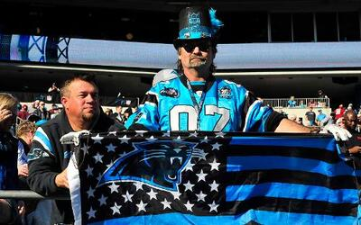 En el triunfo de los Carolina Panthers sobre los Washington Redskins exi...