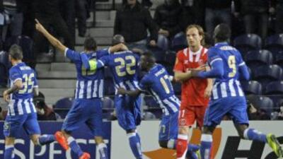 El gol de Mangala fue la diferencia en este primer duelo entre portugues...