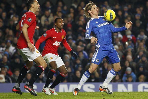 Los 'Blues' y el United aún buscaron el tanto de la victoria, per...