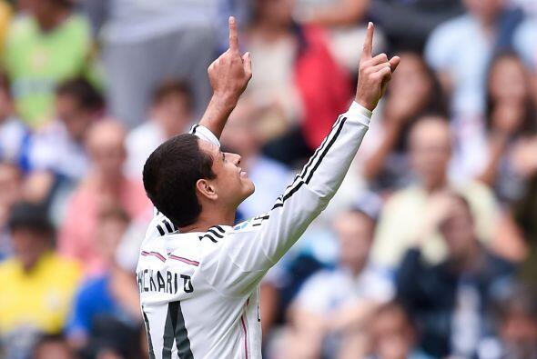 """En el caso del """"Chicharito"""", el mexicano lleva 3 goles anotados pese a l..."""