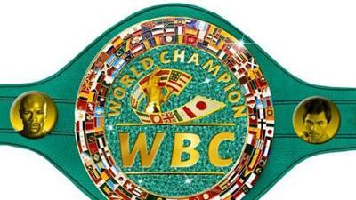 El cinturón de esmeraldas ara el ganador de Mayweather Jr. y Pacquiao (F...