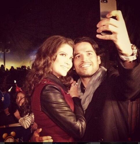 """""""Que en este 2014 su vida este llena de amor"""", deseó Ana. (Enero 1, 2014)"""