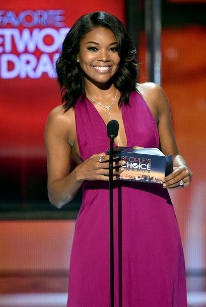 Gabrielle Union fue la siguiente bella presentadora.