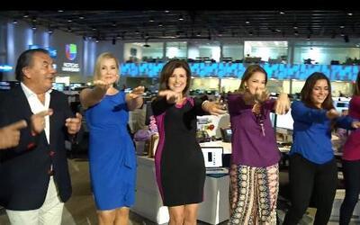 Univision Miami baila la 'Macarena' junto a Los del Río