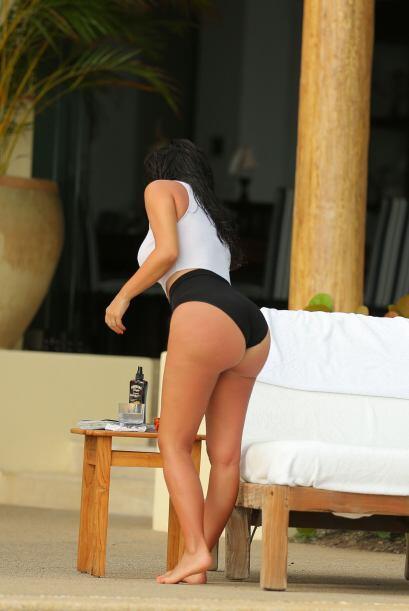 """Presumió todo su """"Kardashian"""".Mira aquí m&aacute..."""