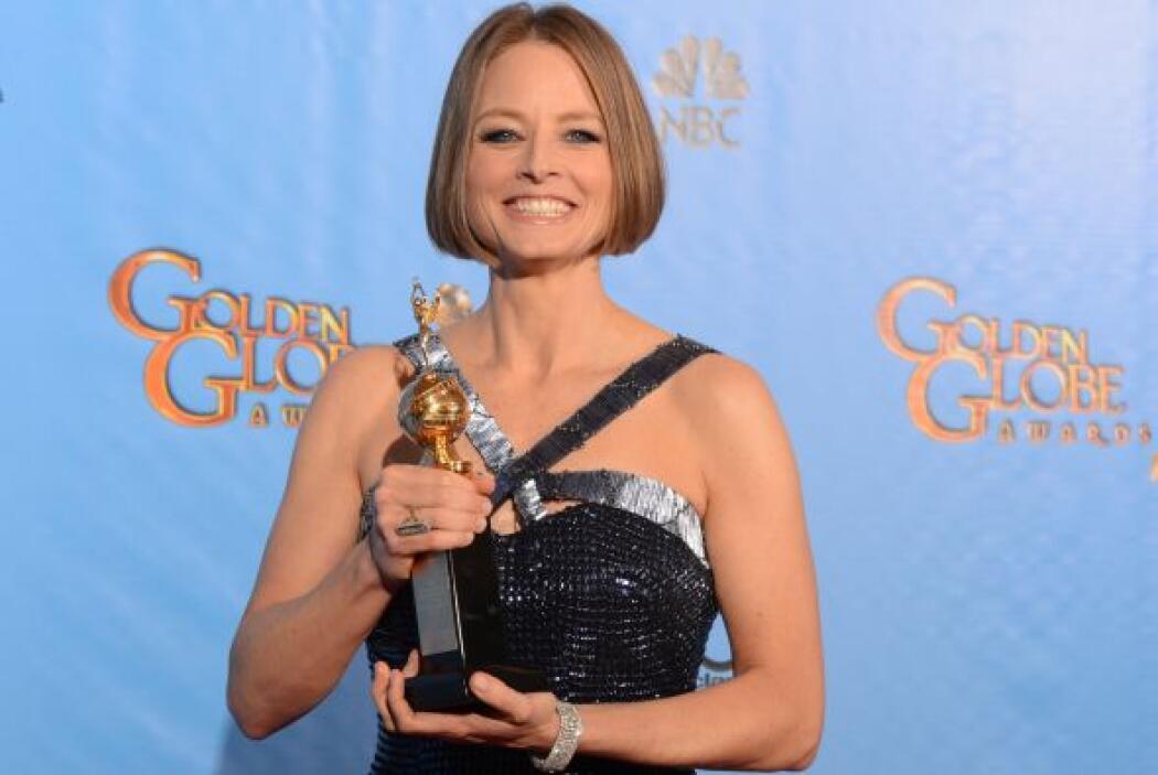 Jodie Foster En los Golden Globes de 2013 reveló lo que era un secreto a...