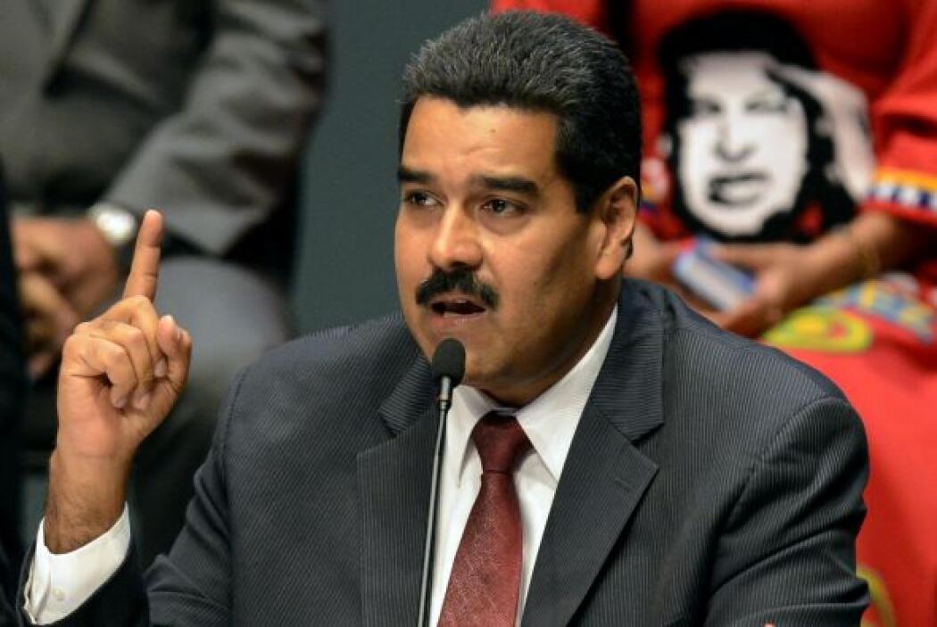 Maduro asumió el mando el 19 de abril para el período constitucional de...