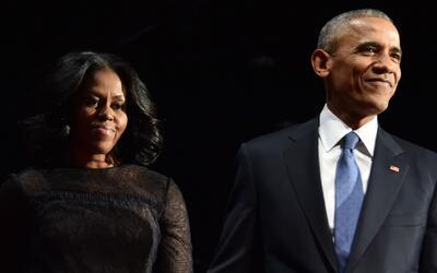 La millonaria suma que ganaría Barack y Michelle Obama por ofrecer discu...
