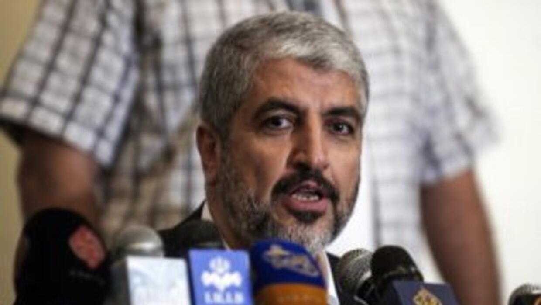 Jaled Meshal, líder de Hamas.