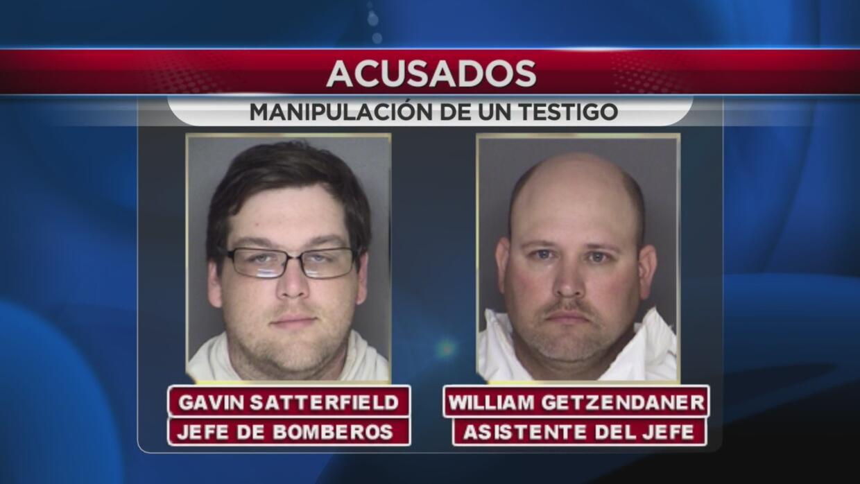 Fueron acusados de encubrimiento y manipulación de testigos