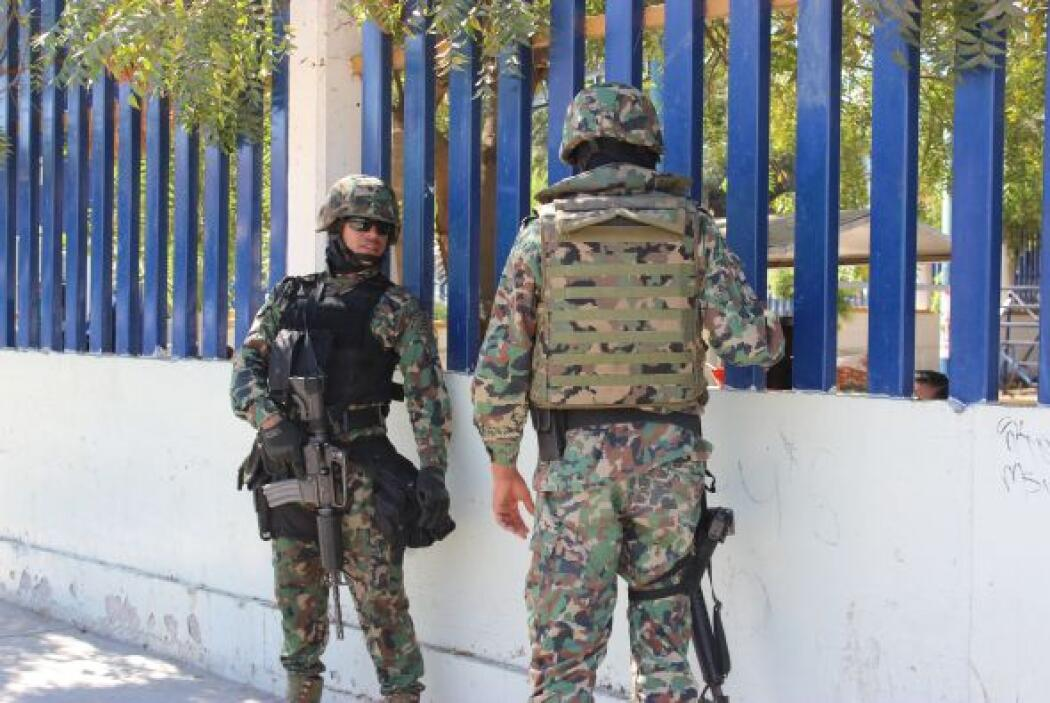 'El Chapo' Guzmán tenía un gran número de cámaras de seguridad fuera de...