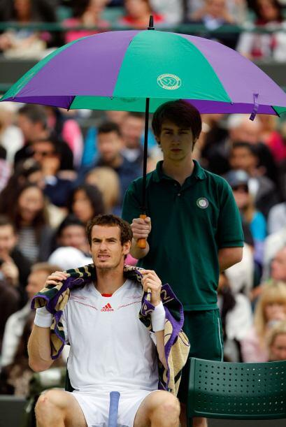 Murray no dio opción a su rival en un encuentro disputado en la pista nú...
