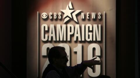 Preparativos del debate demócrata en Iowa