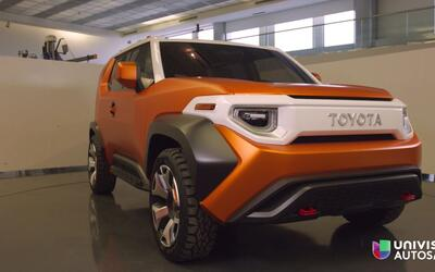 NY Auto Show: Presentación del Toyota FT-4X Concept
