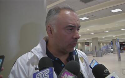 Memo Vázquez: 'Tenemos deseos de sacar un buen resultado ante Independie...
