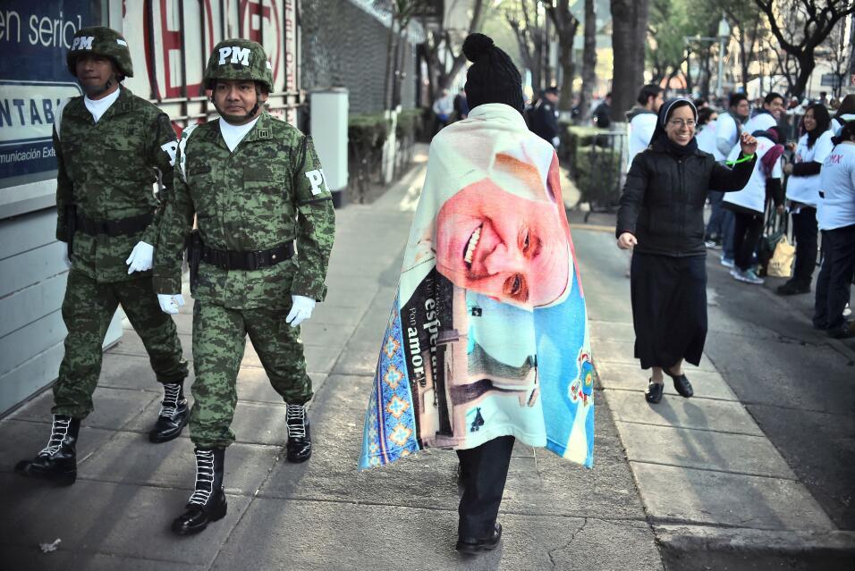 El papa Francisco en México