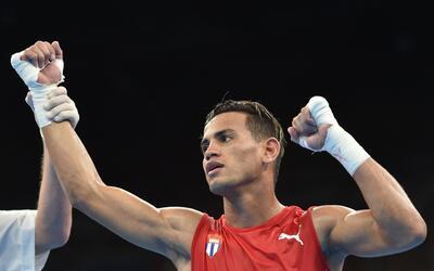 El cubano Robeisy Ramírez tuvo un gran cierre en su pelea ante Sh...