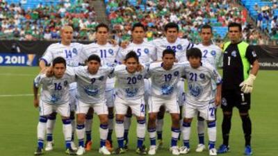Selección de El Salvador.