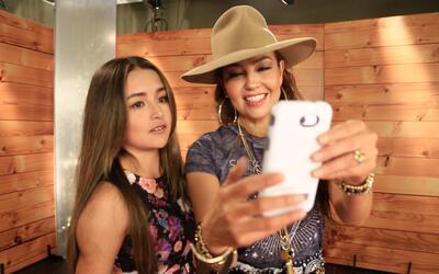 Thalía y Rubí Ibarra, el momento en que las quinceañeras se conocieron