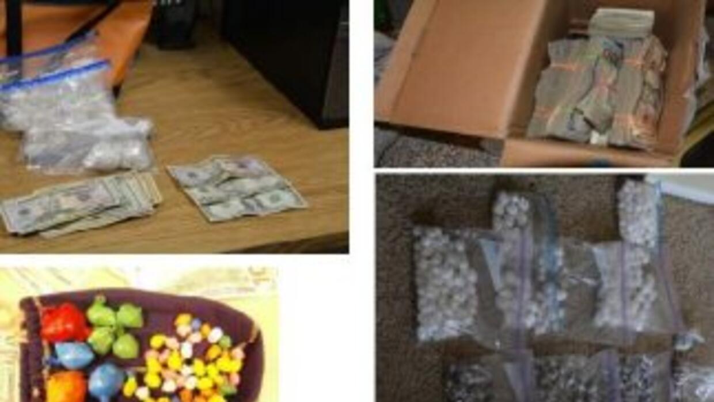 Imágenes del reporte de la policía de Colorado Springs donde informa de...