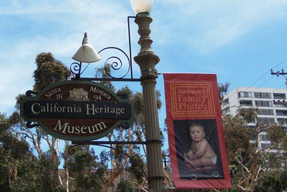 La exhibición estará en el California Heritage Museum hasta el 27 de julio.