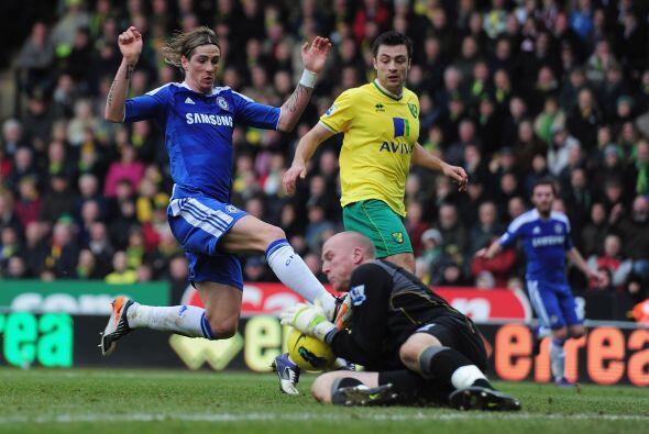 A pesar de tener más oportunidades, Chelsea se tuvo que conformar...