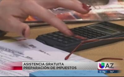 Preparación de impuestos sin costo
