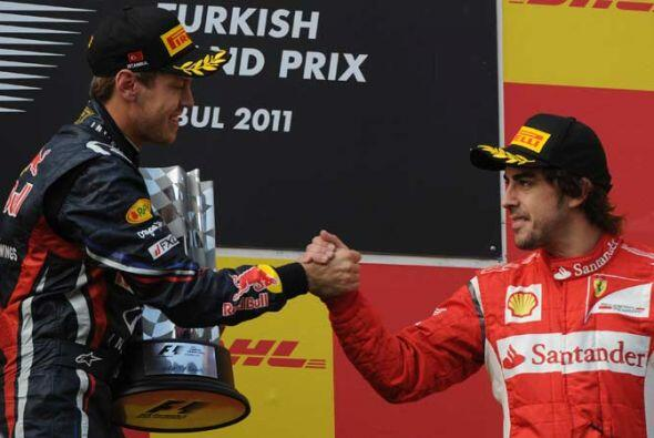 Aunque Alonso terminó confiado y espera remontar en lo que queda de la t...