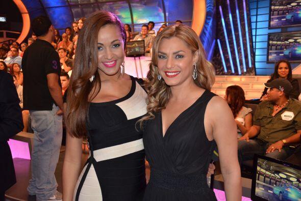 Miren qué par, Karol Rosa y Rosina Grosso, nuestras bellezas gigantes.