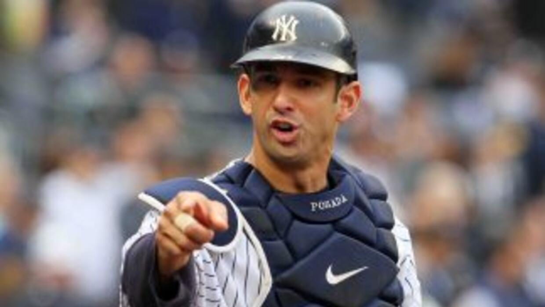 El boricua Jorge Posada, de 40 años de edad, será bateador designado a p...
