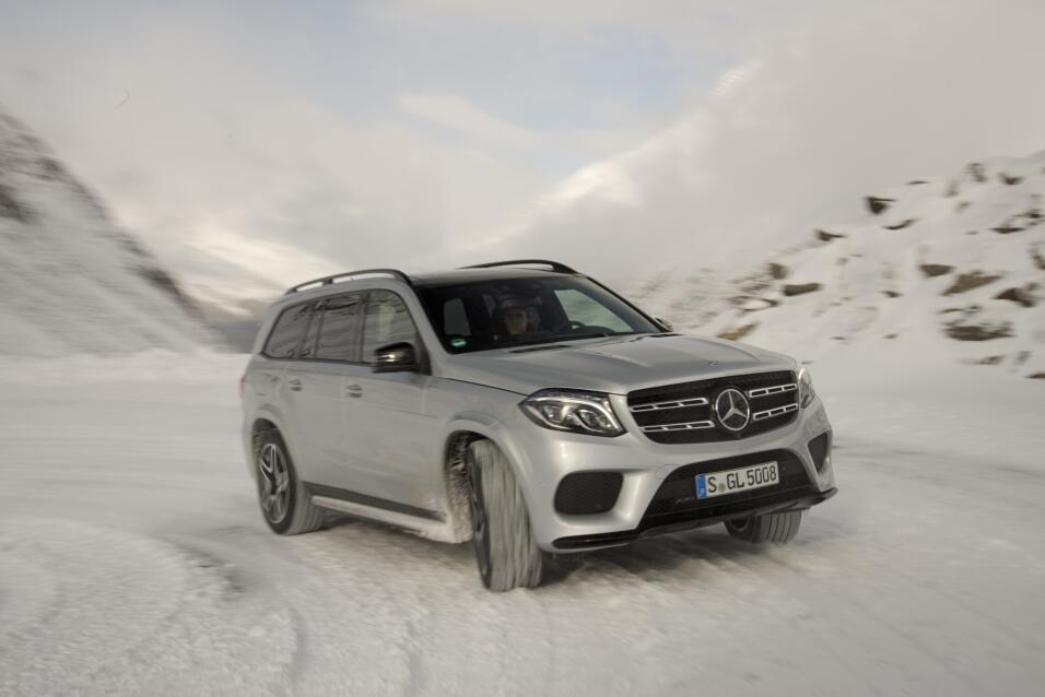 Mercedes-Benz GLS 500 4MATIC 2017 - edición europea