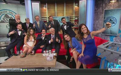 El talento de Univision Deportes asistió a Fanáticos del Frío