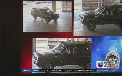 Buscan a sospechoso en Dallas