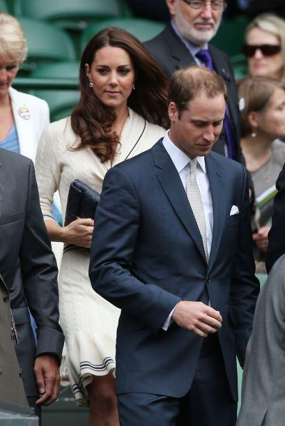 Los duques de Cambridge llegaron al noveno día de competencia del...
