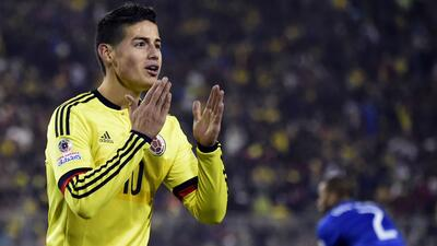 Previo Colombia vs. Perú: Los cafeteros solo piensan en el triunfo Getty...