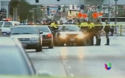 Tiroteo y choque de autos deja 3 muertos en Las Vegas