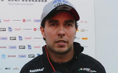 Sergio 'Checo' Pérez se siente confiado de cara al Gran Premio de Rusia