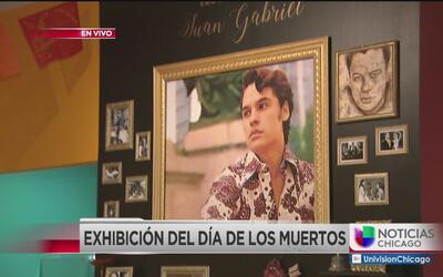 Altares en honor a Juan Gabriel en Pilsen
